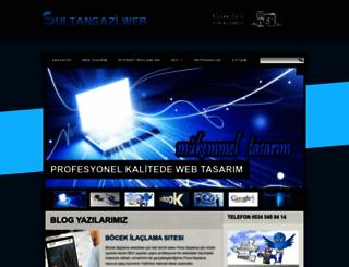 sultangazi.web.tr screenshot