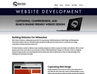 sultansolutions.com screenshot