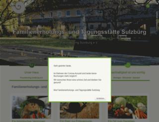 sulzbuerg.com screenshot
