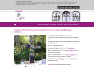 sulzgries-evangelisch.de screenshot
