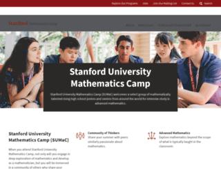 sumac.stanford.edu screenshot