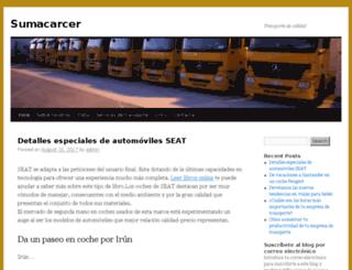sumacarcer.org screenshot
