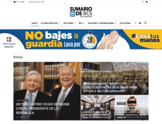 sumariodebcs.mx screenshot