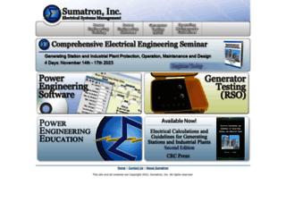 sumatron.com screenshot