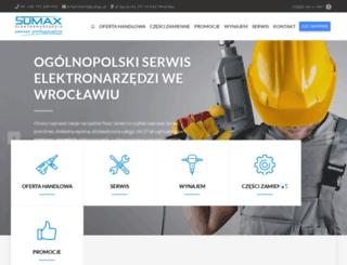 sumax.pl screenshot