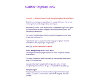 sumber-inspirasi-new.blogspot.com screenshot