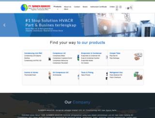 sumbermandiri.com screenshot
