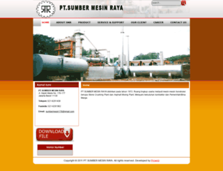 sumbermesinraya.com screenshot