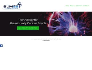 sumeetinstruments.com screenshot