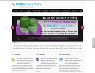 sumerconsultancy.com screenshot