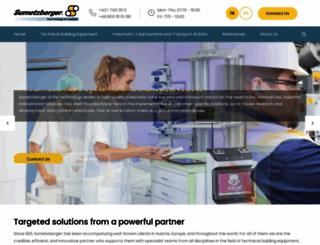 sumetzberger.com screenshot