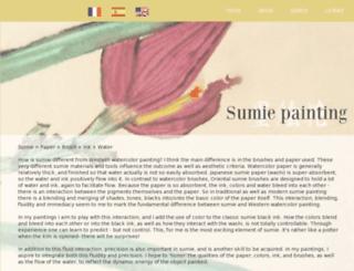 sumiepainting.com screenshot