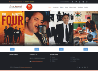 sumitagarwal.net screenshot