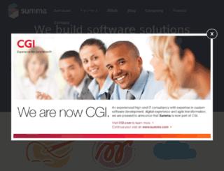 summa-tech.com screenshot