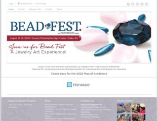 summer.beadfest.com screenshot