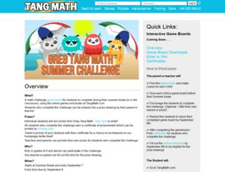 summer.gregtangmath.com screenshot