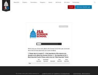 summer.jsa.org screenshot