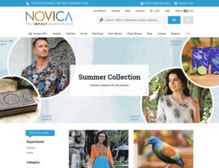 summer.novica.com screenshot