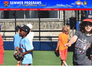 summer.stalbansschool.org screenshot