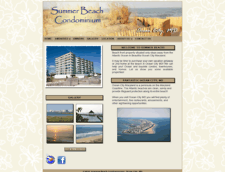summerbeachoc.com screenshot
