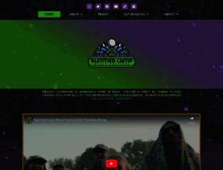 summercampfestival.com screenshot