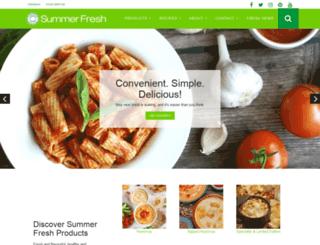 summerfresh.com screenshot