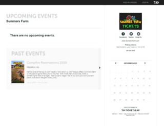 summersfarm.ticketleap.com screenshot