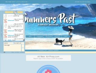 summerspast.jcink.net screenshot