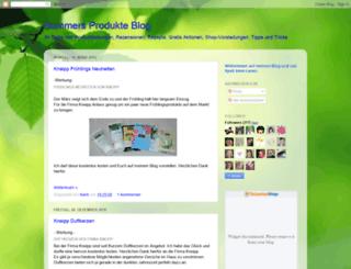 summersprodukteblog.blogspot.de screenshot