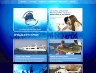 summertimemarine.com screenshot