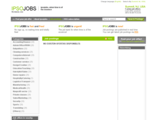 summit.ipsojobs.com screenshot