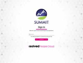 summit.myisolved.com screenshot