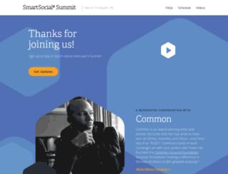 summit.spredfast.com screenshot