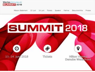 summit.werbeplanung.at screenshot