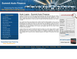 summitautofinance.com screenshot