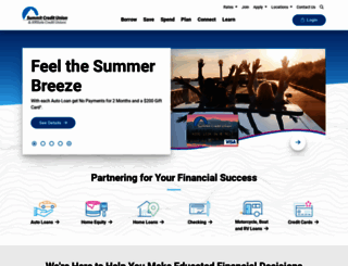 summitcu.org screenshot
