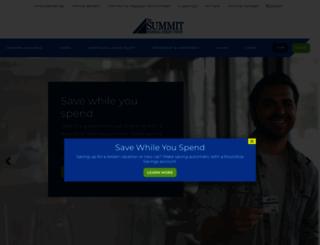 summitfcu.org screenshot