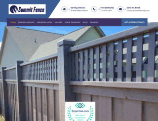 summitfencega.com screenshot