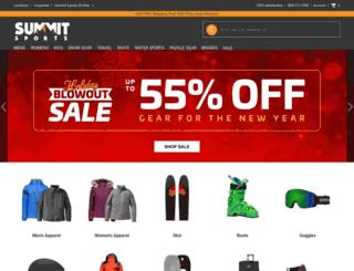 summitsports.com screenshot