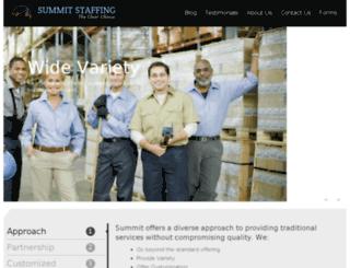 summitstaffingco.com screenshot