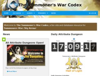 summonerswar.zenira.com screenshot