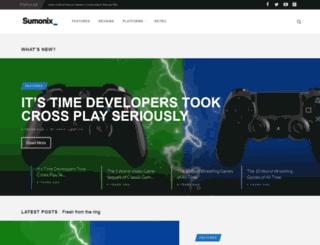 sumonix.com screenshot