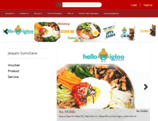 sumosave.com screenshot