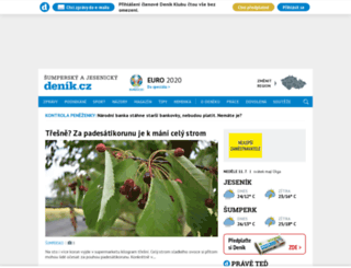 sumpersky.denik.cz screenshot