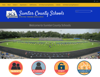 sumterschools.org screenshot