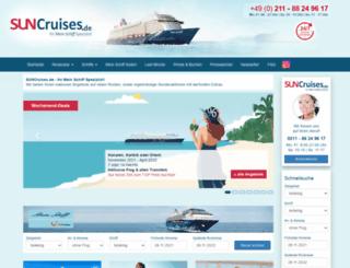 sun-cruises.de screenshot