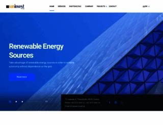sun-invest.gr screenshot