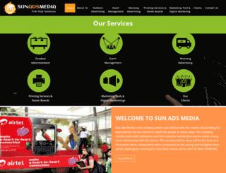 sunadsmedia.com screenshot
