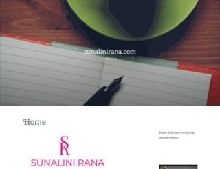 sunalinirana.wordpress.com screenshot