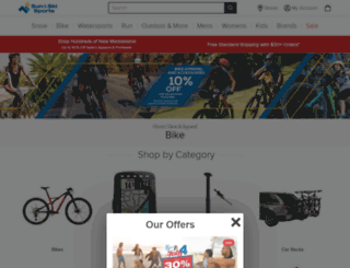 sunandskibikes.com screenshot